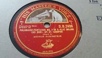 ARTHUR RUBINSTEIN POLONAISE FANTAISIE NO 7 IN A FLAT MAJOR OP 61 CHOPIN DB2498
